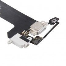 Flex conector de carga y jack color blanco para iPod Touch 6