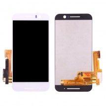Pantalla LCD y táctil color blanco para HTC One S9