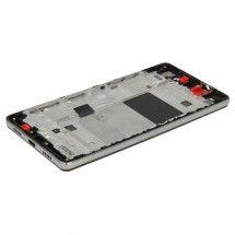 Marco frontal display color negro para Huawei P8 Lite