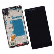 Pantalla completa con marco color negro para Huawei Honor 7i