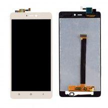 Pantalla LCD más táctil colo dorado para Xiaomi Mi4S