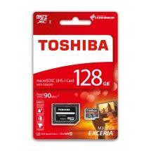 Tarjeta de Memoria MicroSD 128Gb Toshiba Exceria M302 Clase 10