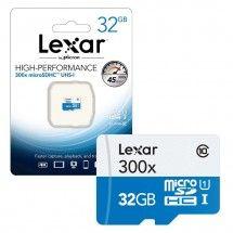 Tarjeta de Memoria MicroSD 32GB LEXAR CLASS10