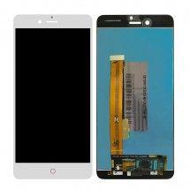 Pantalla LCD más táctil color blanco para ZTE Nubia Z11 Mini S