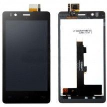 Pantalla LCD mas tactil color negro BQ Aquaris E4.5