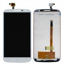 Pantalla LCD mas tactil color blanco Alcatel OT-7050 S9