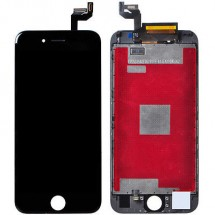 Pantalla LCD más táctil color negro iPhone 6S (Remanufacturado)