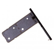 Bandeja Porta Sim color Negro para Sony Xperia XA1 Ultra