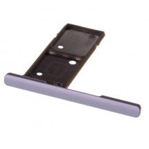 Bandeja Porta Sim color Blanco para Sony Xperia XA1 Ultra DUAL