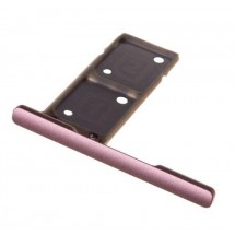 Bandeja Porta Sim color Rosa para Sony Xperia XA1 Ultra DUAL