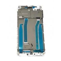 Marco frontal display color blanco para Xiaomi Redmi 4X