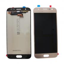 Pantalla LCD y táctil color dorado para Samsung Galaxy J3 J330 2017