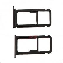 Bandeja porta Sim y MicroSD color negro para para Huawei P10