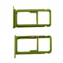Bandeja porta Sim y MicroSD color verde para para Huawei P10