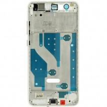 Marco frontal display color blanco para Huawei P10 Lite