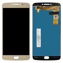 Pantalla LCD y táctil color dorado para Motorola Moto E4 Plus / E4+ XT1770