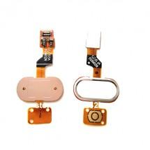Flex botón home color dorado para Meizu Meilan M3S