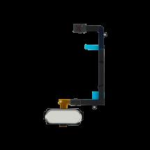 Flex boton home y huella Samsung Galaxy S6 Edge color blanco