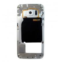 Carcasa intermedia Original color blanco para Samsung Galaxy S6 Edge (Swap)