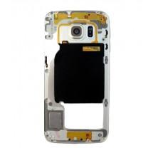 Carcasa intermedia Original color dorado para Samsung Galaxy S6 Edge (Swap)