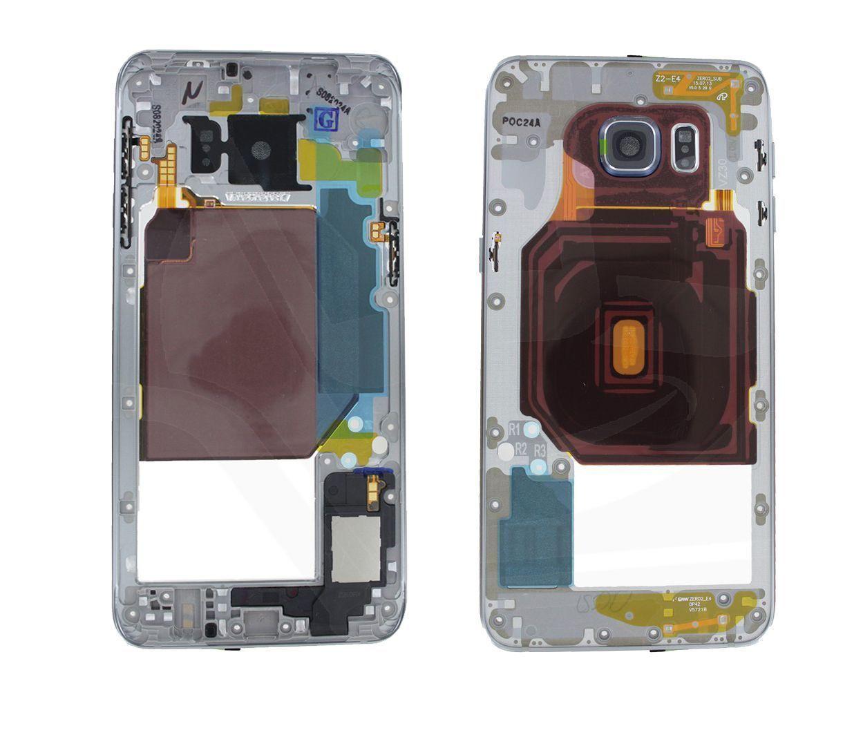 f291d7e5f25 Carcasa trasera negra con lente para Samsung Galaxy S6 Edge+ G928F
