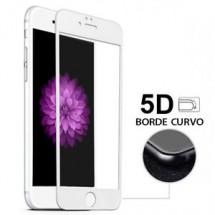 Protector Cristal Templado Cruvo 5D Blanco para iPhone 7 Plus