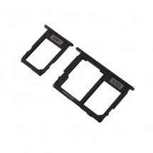 Bandeja Dual sim y MicroSD color negro para Samsung Galaxy J7 J730F (2017) / J5 J530F (2017)