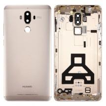 Tapa trasera color Dorado con lente para Huawei Mate 9
