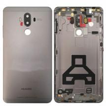 Tapa trasera color Negro con lente para Huawei Mate 9