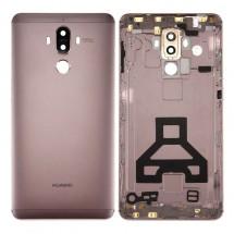 Tapa trasera color Mocka Marron con lente para Huawei Mate 9