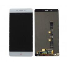Pantalla LCD y táctil color blanco para ZTE Nubia Z11 Max