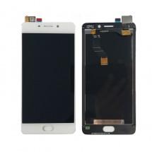 Pantalla LCD y táctil color blanco para Meizu M6 Note