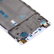 Marco frontal display color blanco para Xiaomi Mi Max 2