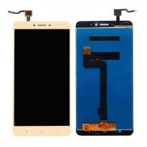 Pantalla LCD y táctil color dorado para Xiaomi Mi Max 2