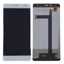 Pantalla LCD y táctil color blanco para Elephone S3