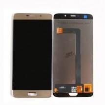 Pantalla LCD y táctil color dorado para Elephone S7
