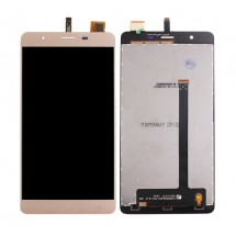 Pantalla LCD y táctil color dorado para Elephone C1