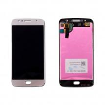 Pantalla LCD y táctil color blanco para Motorola Moto G5S Edición Especial XT1797