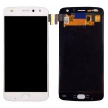 Pantalla LCD y táctil color blanco para Motorola Moto Z2 Play
