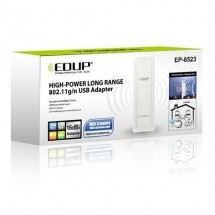 Antena Wifi Exteriores Largo Alcance EDUP EP-8523 IEEE802.11b / g / n 2.4GHz 150Mbps