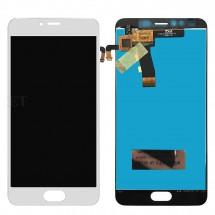 Pantalla LCD Más Táctil Color blanco Para Meizu M5 / Melian 5