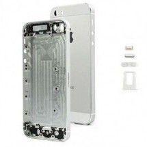 Chasis con  botones y porta sim iPhone 5S color Silver