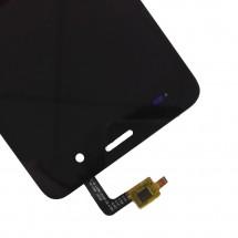 Pantalla LCD y táctil color negro para Wiko Jerry