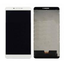 """Pantalla LCD y táctil color blanco para Lenovo Phab 6.98"""" PB1-750 / N / M"""