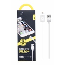 Cable datos Magnético Lighting para iPhone - 1m - 2A - Ref. AA111