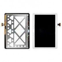 Pantalla LCD mas tactil con marco color blanco para Samsung Galaxy Tab 4 T530
