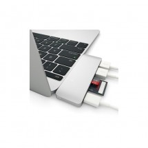 Adaptador Type-C Hub USB - Lector tarjetas - compatible con Macbook 2017
