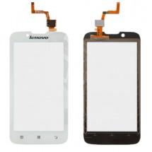 Táctil color blanco para Lenovo A328