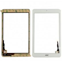 Táctil color blanco para Acer Iconia B1-850