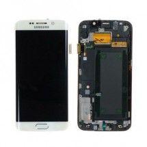 Pantalla LCD mas tactil con marco color blanco Samsung Galaxy S6 Edge